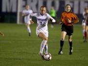 Ridgefield High grad Taryn Ries already has five goals in three matches.