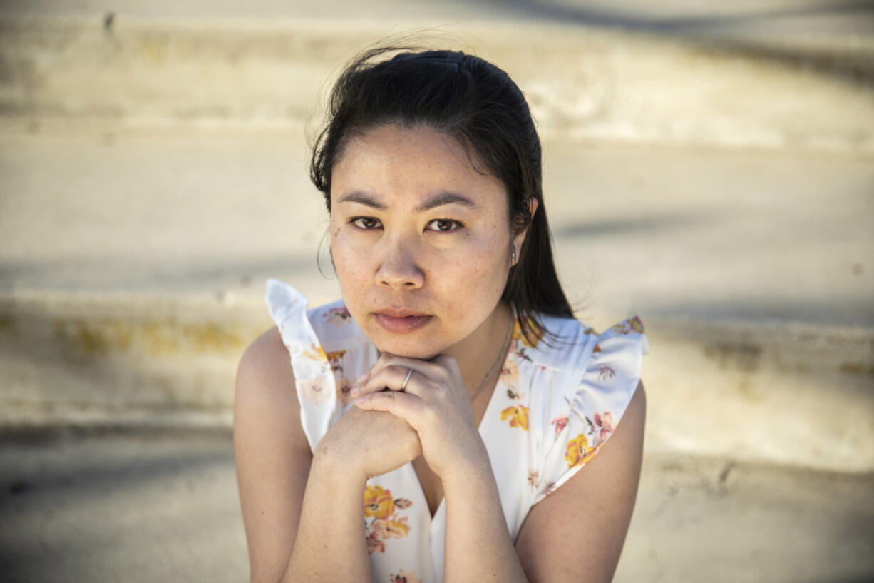 Hong Lee, 35, turned to activism after an incident last year in Torrance, California, when a man began verbally assaulting her after she rejected his advances. (Jay L.