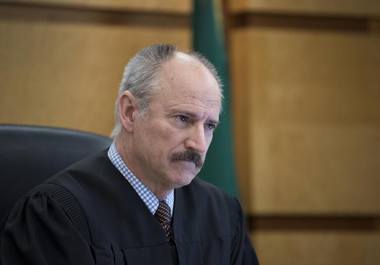 Judge Darvin Zimmerman in 2019.
