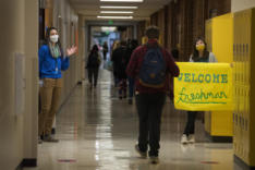 Ninth-graders at Evergreen High School news photo gallery