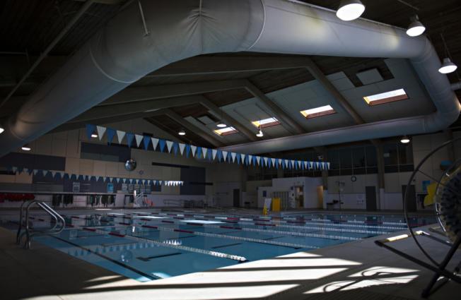 The pool at the Marshall Community Center is closed for renovations. A contract to resurface the pool and install a fiberglass coating was awarded by the Vancouver City Council on Monday.