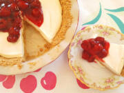 This no-bake cheesecake was my preferred birthday cake when I was young. It's densely creamy with a hint of lemon and a cinnamon-y Graham cracker crust.