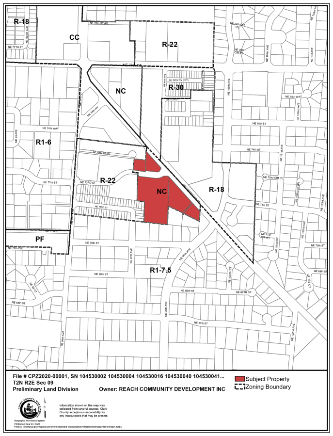 A recent land use decision by the Clark County Council about a site on Northeast Covington Road (seen here) highlighted the often-delicate balance of affordable housing and jobs needs in the county.