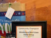 VANCOUVER: Windermere Stellar's donation to the provide food assistance to the Fruit Valley neighborhood led to the organization receiving a Community Champion Award from the Foundation for Vancouver Public Schools.