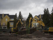 Construction begins on Riverside Townhomes, a town house complex proposed for a long-vacant lot at 1770 S.E. Columbia River Drive. Each is about 2,500 square feet with a two-car garage on the bottom floor. They're set to be completed between spring and summer 2022.