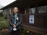 Retired doctor Mary Shepard has been volunteering with Kaiser Permanente's vaccination effort during the month of March. Shepard said it was an easy decision to volunteer her time during this historic moment.