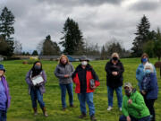 ELLSWORTH SPRINGS: City of Vancouver volunteer and urban forestry programs added four trees to the Volunteer Grove at Centerpointe Park on March 20 to honor volunteers.