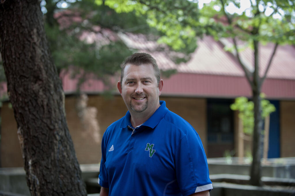 Matt Johnson, principal of Mountain View High School, was placed on leave two weeks ago.