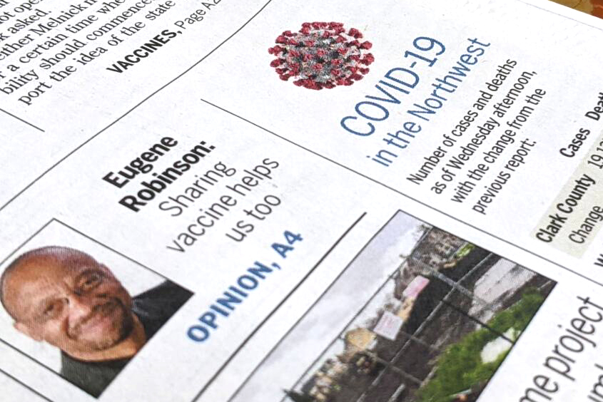 For more than a year, The Columbian has run a roundup of COVID-19 numbers on A1.
