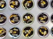 Chocolate tahini cups (Elizabeth Karmel/Associated Press)