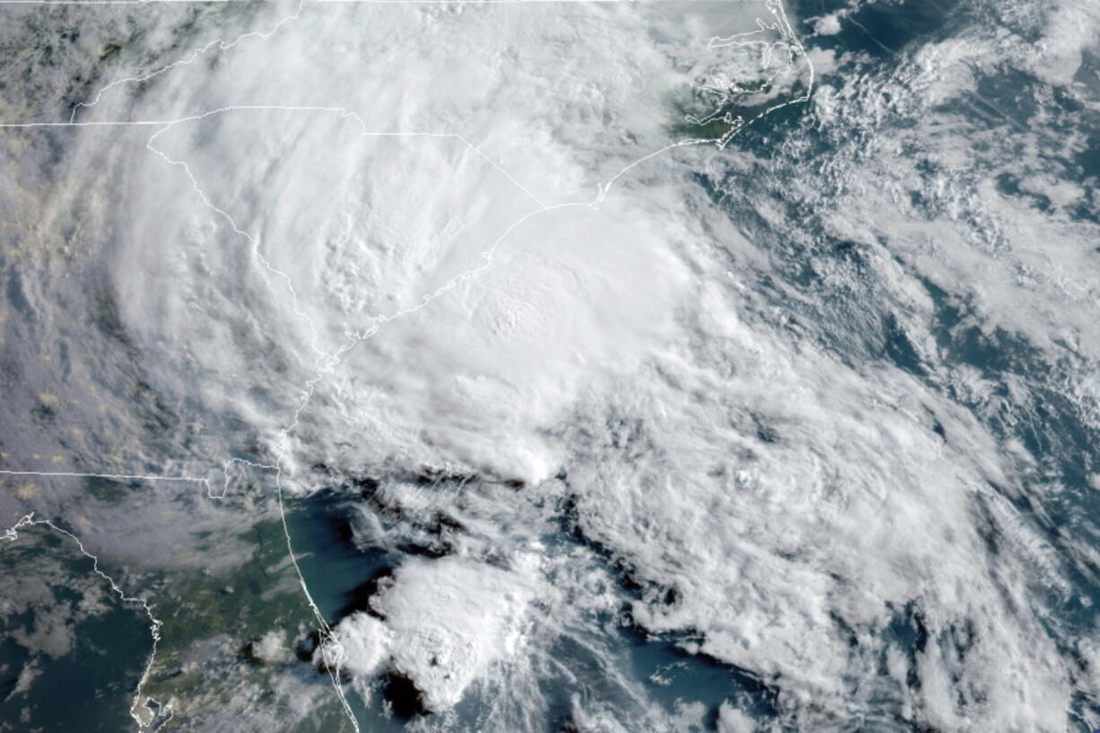 Tropical Storm Bertha approaches the South Carolina coast on May 27. On Wednesday, a World Meteorological Organization committee discussed whether the Atlantic hurricane season should start on May 15 instead of the traditional June 1. The start was left at June 1.