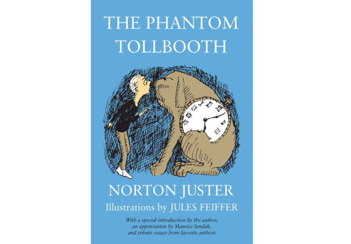 "This cover image released by Random House Children's Books shows ""The Phantom Tollbooth"" by Norton Juster.  The celebrated architect and children's author who fashioned a special world of his own in ""The Phantom Tollbooth"" died at age 91. His death was confirmed Tuesday by a spokesperson for Random House Children's Books."