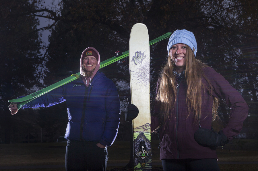Bend's Barry Wicks and Emily Keddie won the Virtual VertFest, put on by the Central Oregon Avalanche Center.