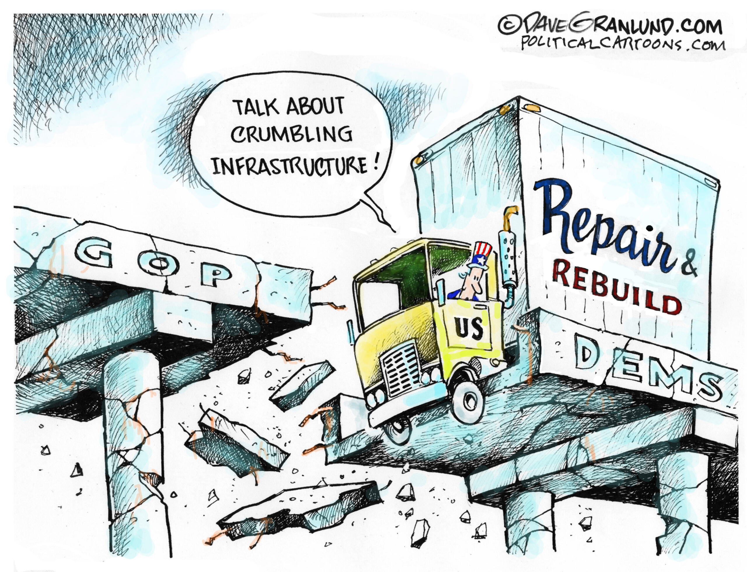 April 3: Crumbling Infrastructure