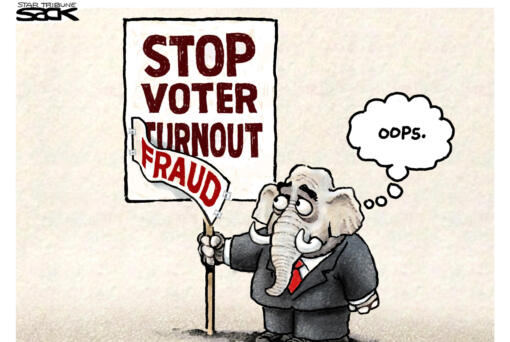 April 13: Voter Fraud Fraud