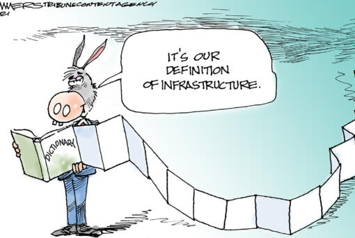 April 17: Infrastructure Bill