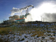 This Dec. 6, 2017, file photo shows the Colstrip power plant in southeast Montana.