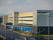 Amazon distribution center in Torrazza, Italy. Top U.S. lawmakers say the digital service tax adopted by countries like Italy unfairly targets top American tech companies.