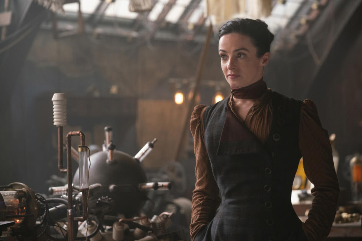 "Laura Donnelly as Amalia True in ""The Nevers."" (Keith Bernstein/HBO/TNS)"