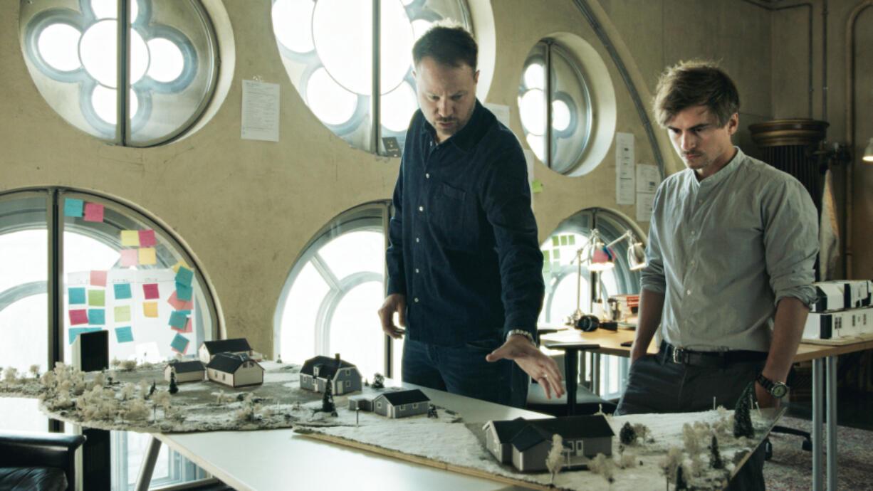 "Anton Berg and Martin Johnson in ""Pray, Obey, Kill."" (HBO)"