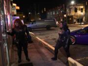 "Melissa McCarthy as Lydia, left, and Octavia Spencer as Emily in ""Thunder Force."" (Hopper Stone/Netflix)"