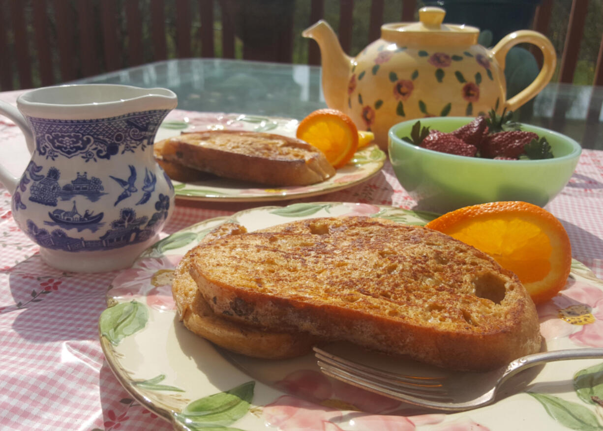 French toast is just the thing for Sunday brunch, a lovely melding of golden, egg-soaked bread and sweet toppings.
