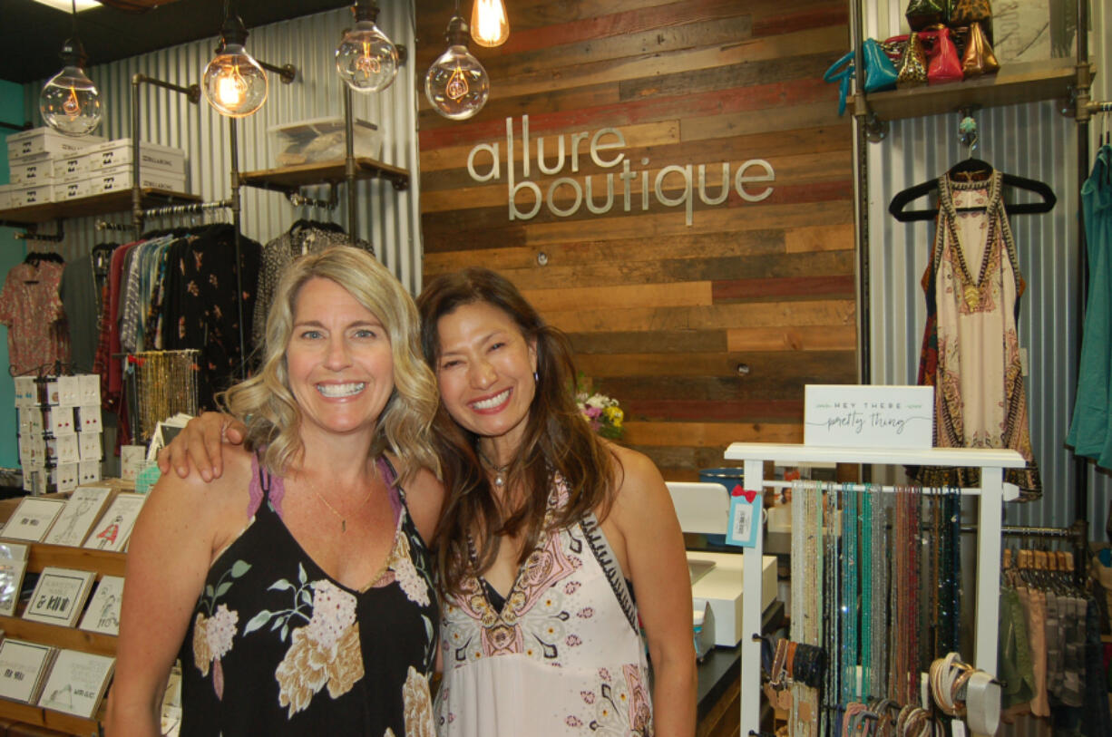 Downtown Camas shops - like Allure Boutique - will stay open late on Third Thursdays in downtown Camas, a new monthly event from 5 to 8 p.m.