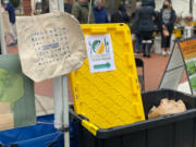 CENTRAL VANCOUVER: The Vancouver Sunrise Rotary Club is holding an ongoing food drive to benefit the Clark County Food Bank.