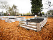 WASHOUGAL: The city of Washougal held a grand opening and ribbon cutting in honor of the new Downtown Community Garden on March 25.