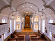 ESTHER SHORT: The Providence Academy Chapel was recognized with a Palladio Award in the Craftsmanship category.