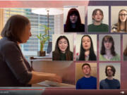 BATTLE GROUND: Students from Prairie High School and Maple Grove Primary collaborated with a Portland-area folk and bluegrass group called The Misty Mamas for a virtual variety show called Sounds of Earth.