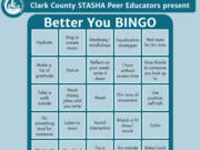 STASHA's bingo challenge aims to help teens cope and continues through May 20.