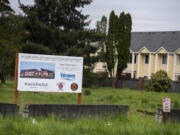 Vancouver was awarded a $7.1 million contract to start construction on Fire Station 11, as seen Tuesday morning, April 27, 2021.