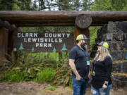 """Jason Clonts, park host at Lewisville Regional Park, started the gig with Clark County Public Works in 2019. """"As we're in the park and around, we answer questions and help people, as well as making sure the atmosphere is good,"""" Clonts said. """"Sometimes things come up - emergencies -we help first responders get into the right place and then step out of the way."""