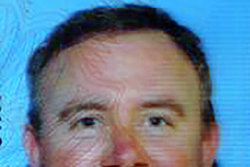 This undated photo provided by the Los Angeles County Sheriffs Department shows 41-year-old James Mathew Dorsey from Washington State. Los Angeles County homicide investigators were searching Thursday, April 15, 2021, for Dorsey, the estranged husband of a woman who was fatally stabbed in her home in Santa Clarita, Calif. (Los Angeles County Sheriffs Dept.