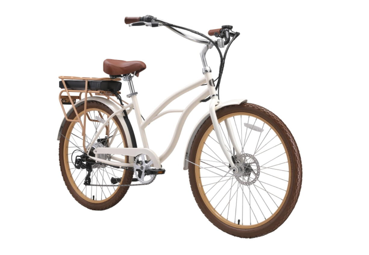 The Around the Block electric cruiser bike from Sixthreezero.com.