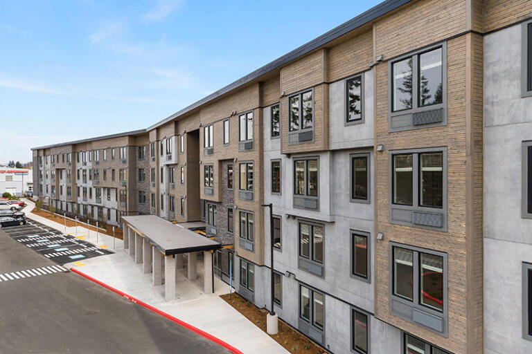 Westridge Lofts in the heart of the 192nd corridor with an onsite workout facility and bark park.