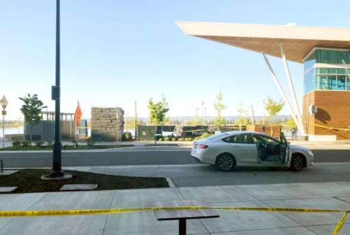 A Saturday morning shooting at the Waterfront Vancouver left one person dead.