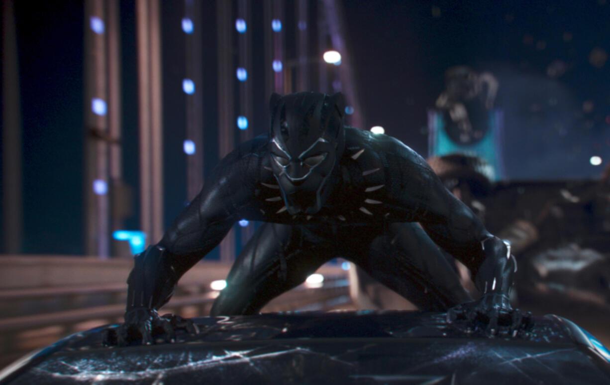 "Chadwick Boseman in Marvel's ""Black Panther."" (Marvel Studios/Entertainment Pictures/ZUMAPRESS.com/TNS)"