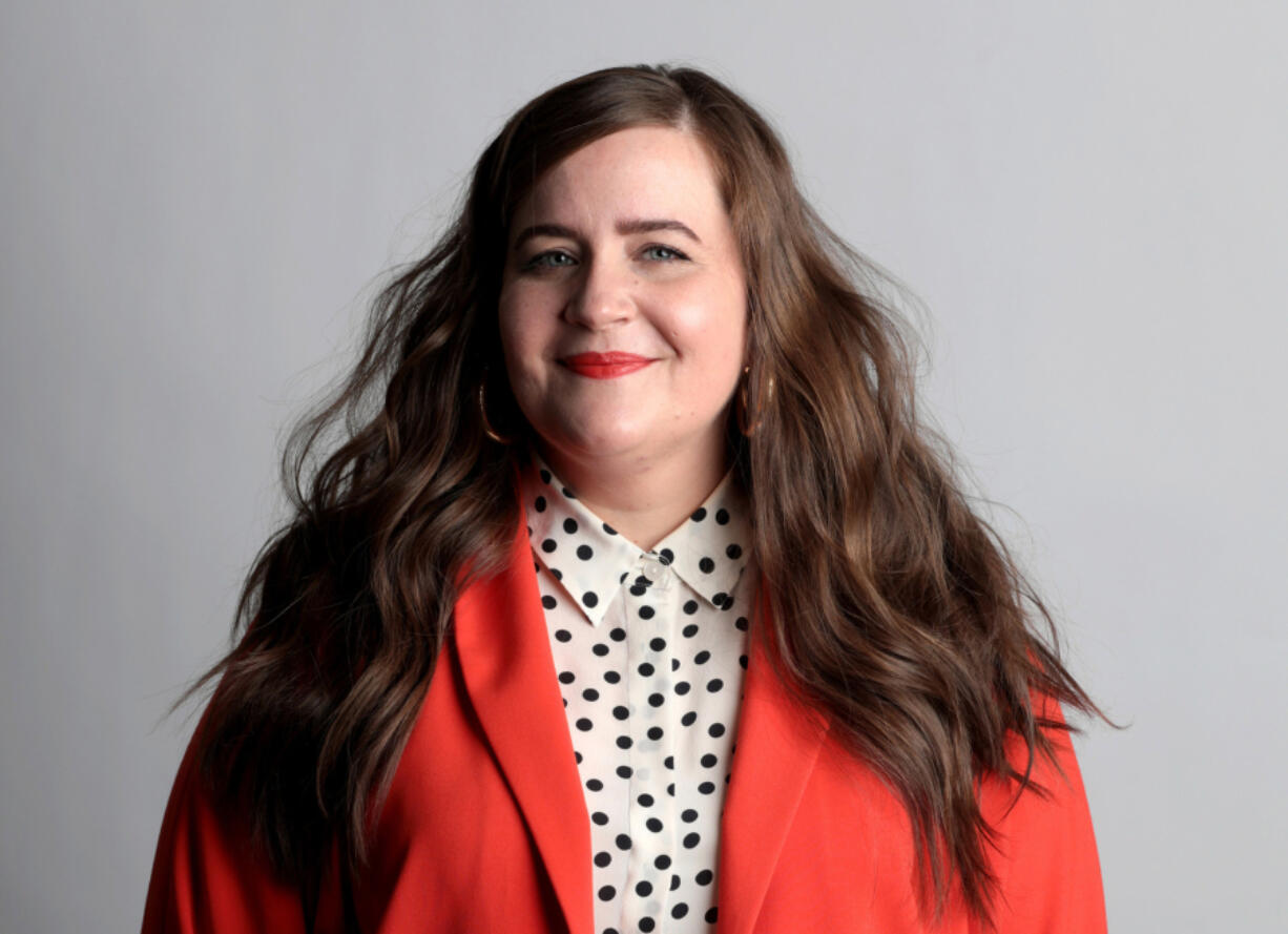 """""""Saturday Night Live"""" cast member Aidy Bryant, seen on Thursday, March 21, 2019, is also the star and co-creator of the Hulu series """"Shrill."""" (Antonio Perez/Chicago Tribune/TNS)"""