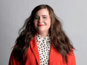 """Saturday Night Live"" cast member Aidy Bryant, seen on Thursday, March 21, 2019, is also the star and co-creator of the Hulu series ""Shrill."" (Antonio Perez/Chicago Tribune/TNS)"