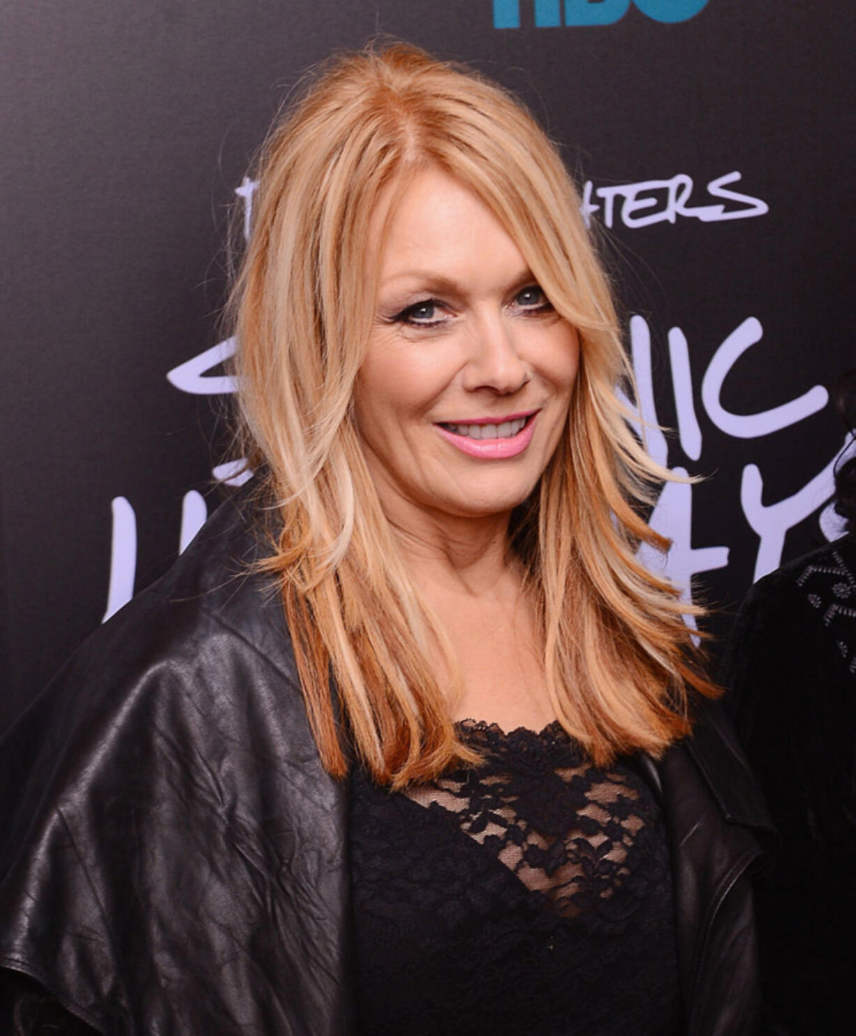 """Musician Nancy Wilson of Heart attends The """"Foo Fighters:  Sonic Highways"""" New York Premiere at Ed Sullivan Theater on October 14, 2014 in New York City."""