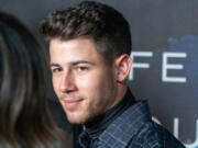 Nick Jonas attends the Launch of Villa One Tequila at John Varvatos Bowery in New York  in 2019.