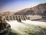 The Lower Granite Dam on the Snake River is one of four dams on the Snake River that would be slated for removal in proposal made by an Idaho congressman.