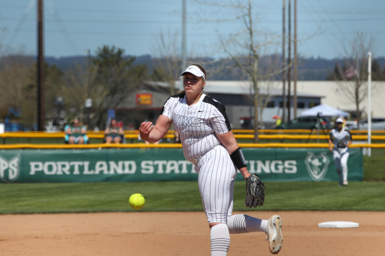 Olivia Grey and the Portland State softball team underwent a drastic turnaround this season. A team that was 4-21 won 11 of its last 14 games, with Grey winning all four games in the Big Sky tournament for the Vikings.