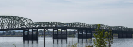 Oregon and Washington are two years into a renewed effort to replace the Interstate 5 Bridge, eight years after the collapse of the Columbia River Crossing project. The project office is currently developing the Purpose and Need and Vision and Values statements for the new bridge, which will help evaluate the different configuration options to arrive at a preferred version.