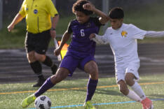 Columbia River boys soccer advances to district championship sports photo gallery