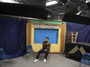 """Hudson's Bay High School senior Owen Lazaro-Colin learned professional video production skills this year through the Vancouver Public Schools Game Time internship. """"That, for me, kind of fills in the senior experience,"""" he said."""