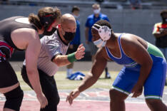 4A/3A GSHL wrestling enjoys sunshine at Doc Harris sports photo gallery