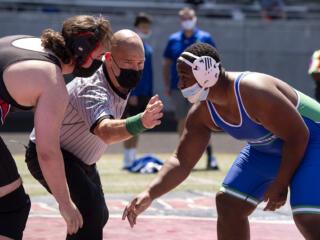 4A/3A GSHL wrestling enjoys sunshine at Doc Harris